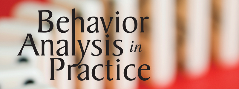 Journals - Association For Behavior Analysis International