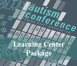 a square graphic representing 2011 Autism Conference Video Package