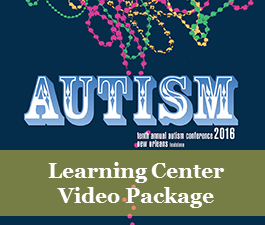 a square graphic representing 2016 Autism Conference Video Package